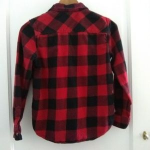 Arizona Jean Company Shirts & Tops - Arizona Jeans Red Plaid Button Up